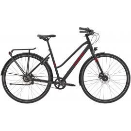 Trek District 3 Equipped City Bike Matte Trek Black 2022