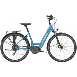 TREK Verve + 3 Electric Lowstep Bike 400WH Teal 2021