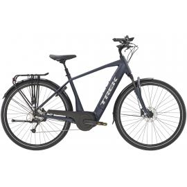 TREK Verve + 4 Electric Bike 400WH Matte Nautical Navy 2021