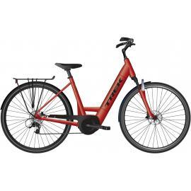 TREK Verve + 4 Electric Lowstep Bike 400WH Red 2021