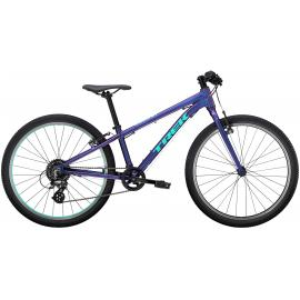 TREK Wahoo 24 Kids Bike Purple Flip 2021