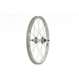 Tru-Build 18x1.75 Alloy Rim Rear Wheel Nutted Axle Silver