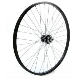 "Tru-Build 24"" Wheel 6 Bolt Disc Silver Front"