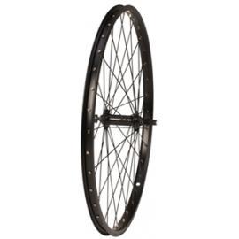 Tru-Build Alloy 36h QR 24x1.75 Front Wheel Black