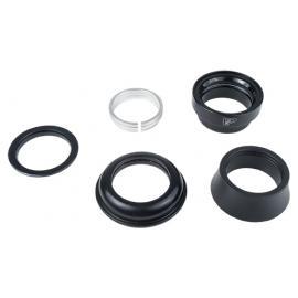 VP Steel 1-1/8in Traditonal Headset Upper/ZS Lower Black