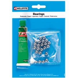 Weldtite Ball Bearing with Grease 1/4in (24 Balls)