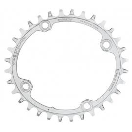 Wolf Tooth Elliptical 104 BCD Chainring Stainless Steel